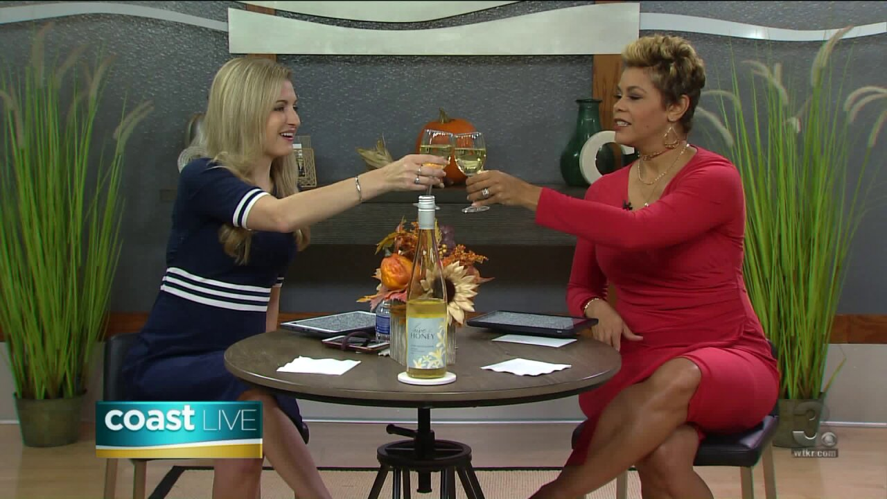 Toasting Tuesday with Hive & Honey Gewürztraminer on CoastLive