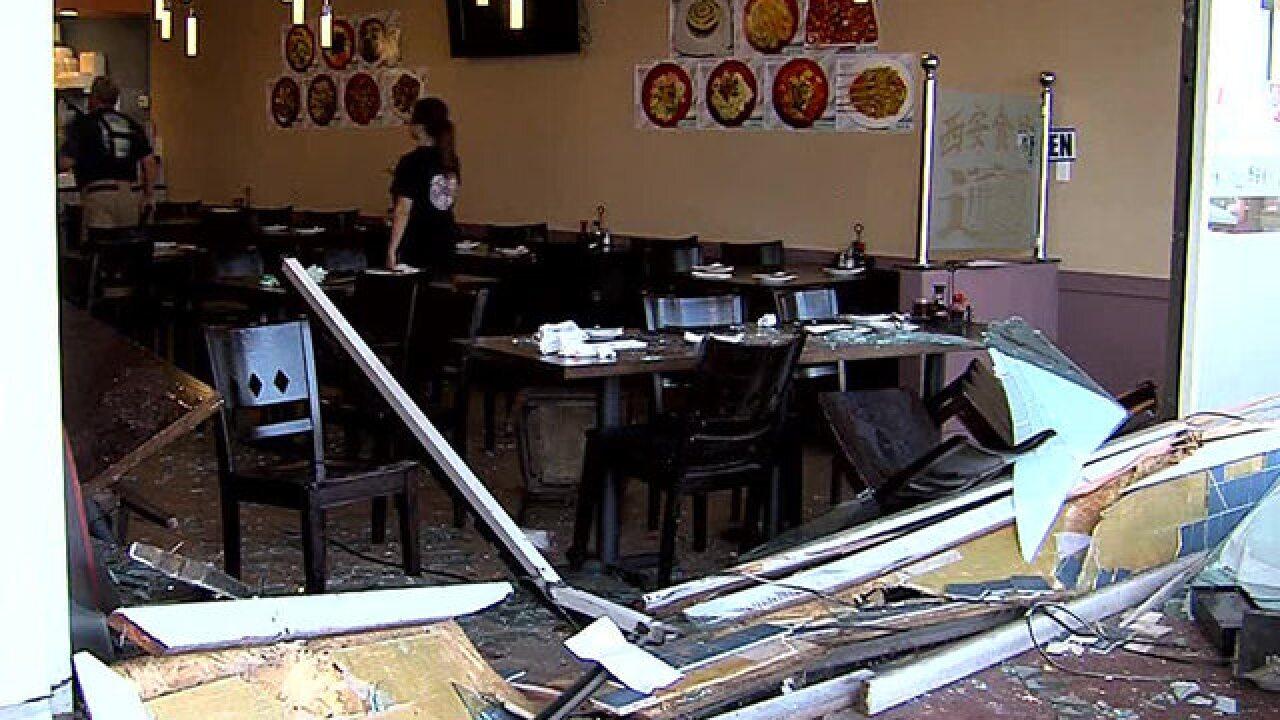 Vehicle crashes into Kearny Mesa-area restaurant