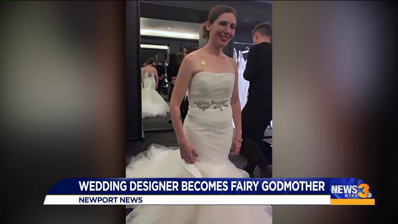 Military couple coping with health issues gets wedding help from well-known fashion designer