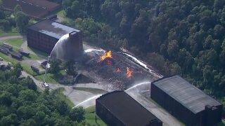 WLKY Jim Beam warehouse fire