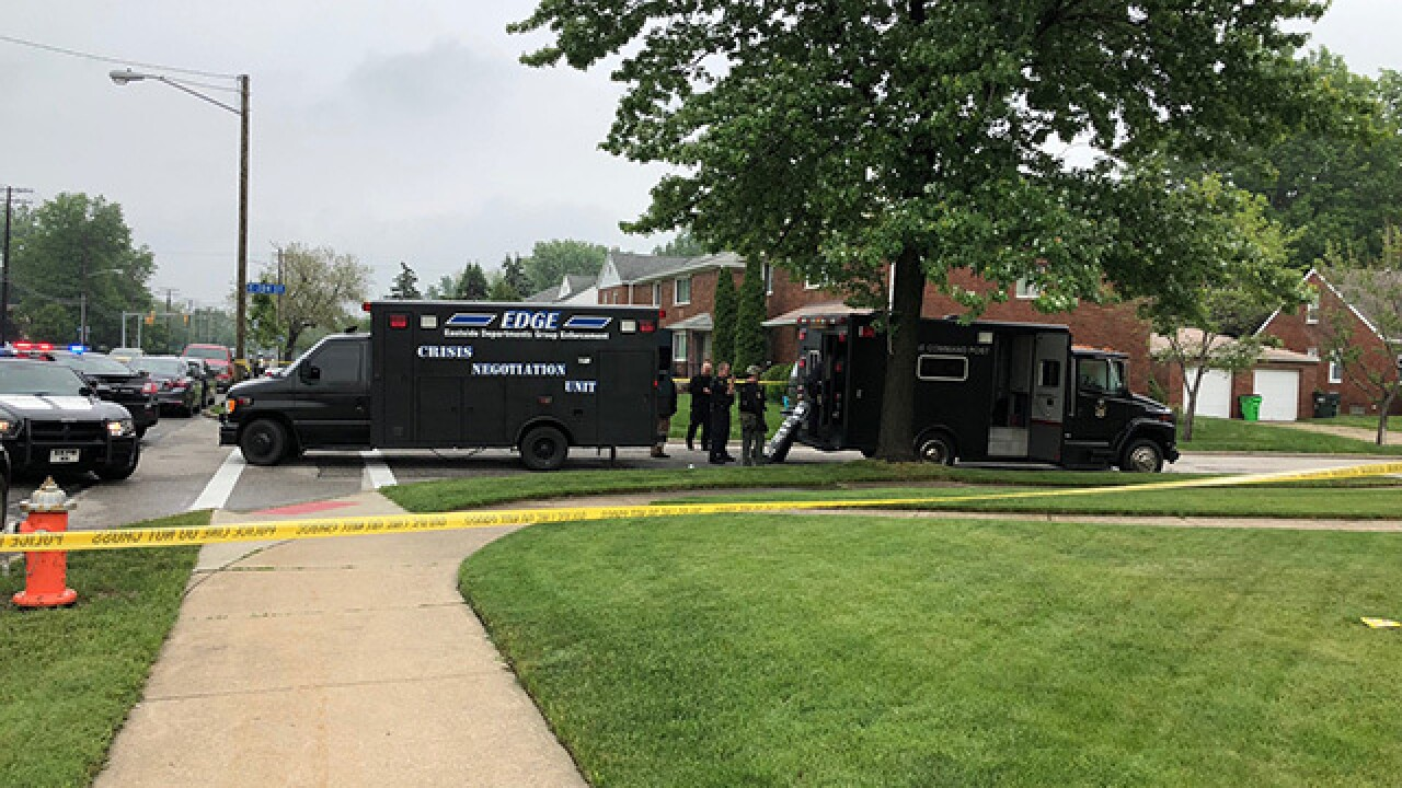 SWAT, Euclid police dealing with situation