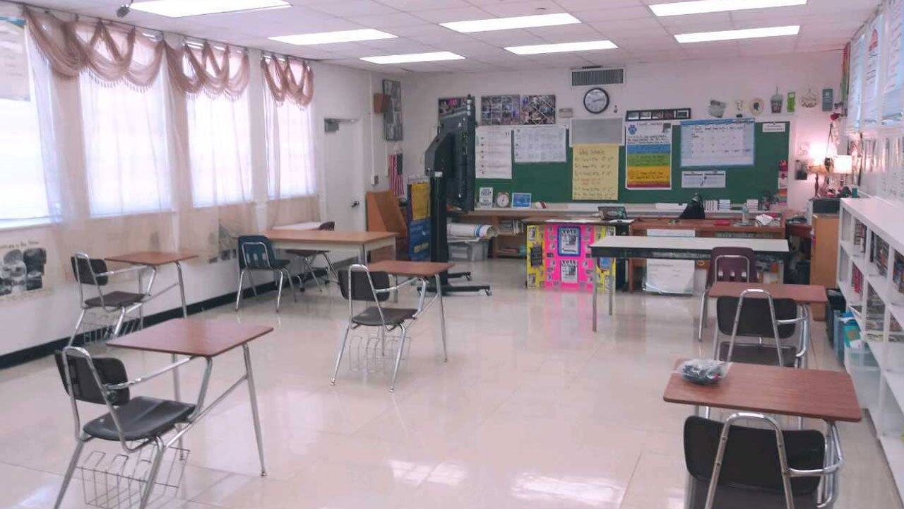 Palm Beach County classroom