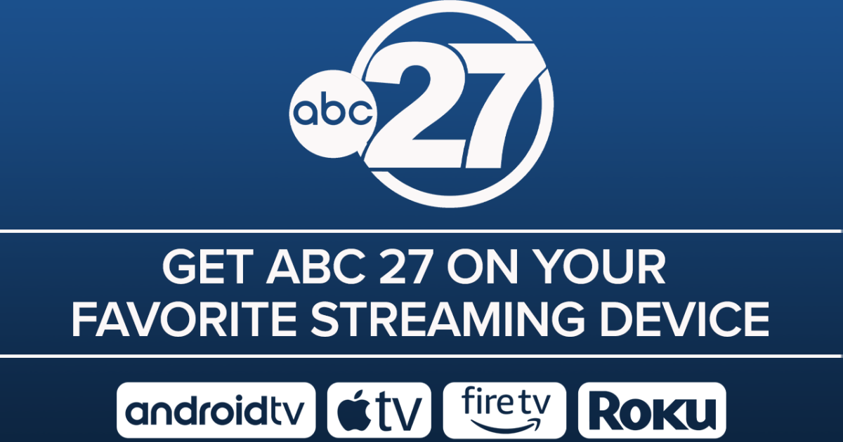Here's how to watch ABC 27 on your streaming device