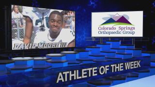 KOAA Athlete of the Week: David Moore III, Pine Creek Football