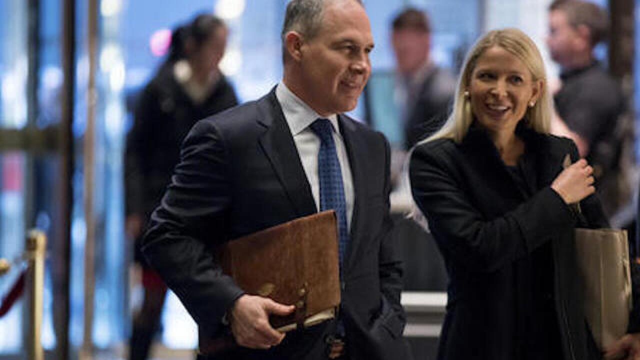 Trump picks Scott Pruitt to head EPA