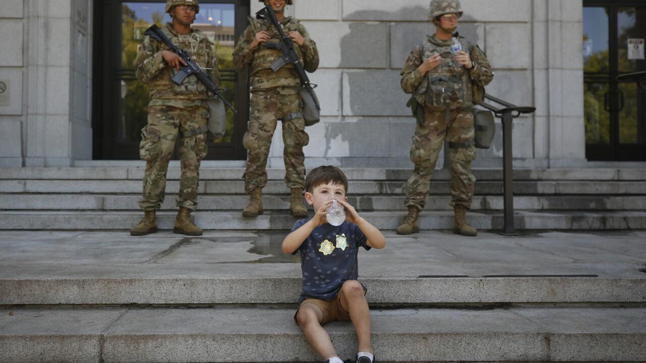America Protests California National Guard