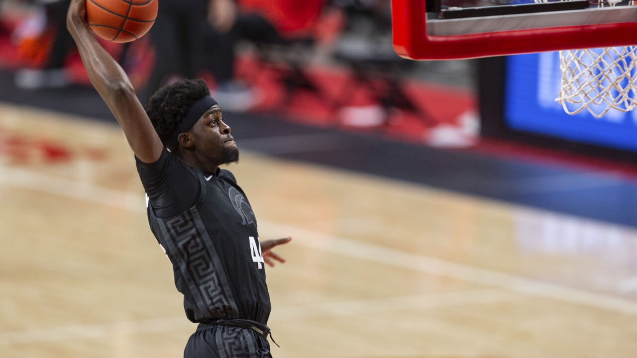 Michigan State Gabe Brown basketball MSU 2021