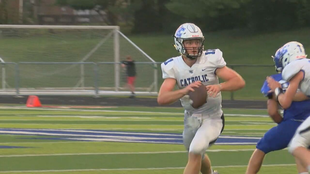 Lexington Catholic QB Beau Allen