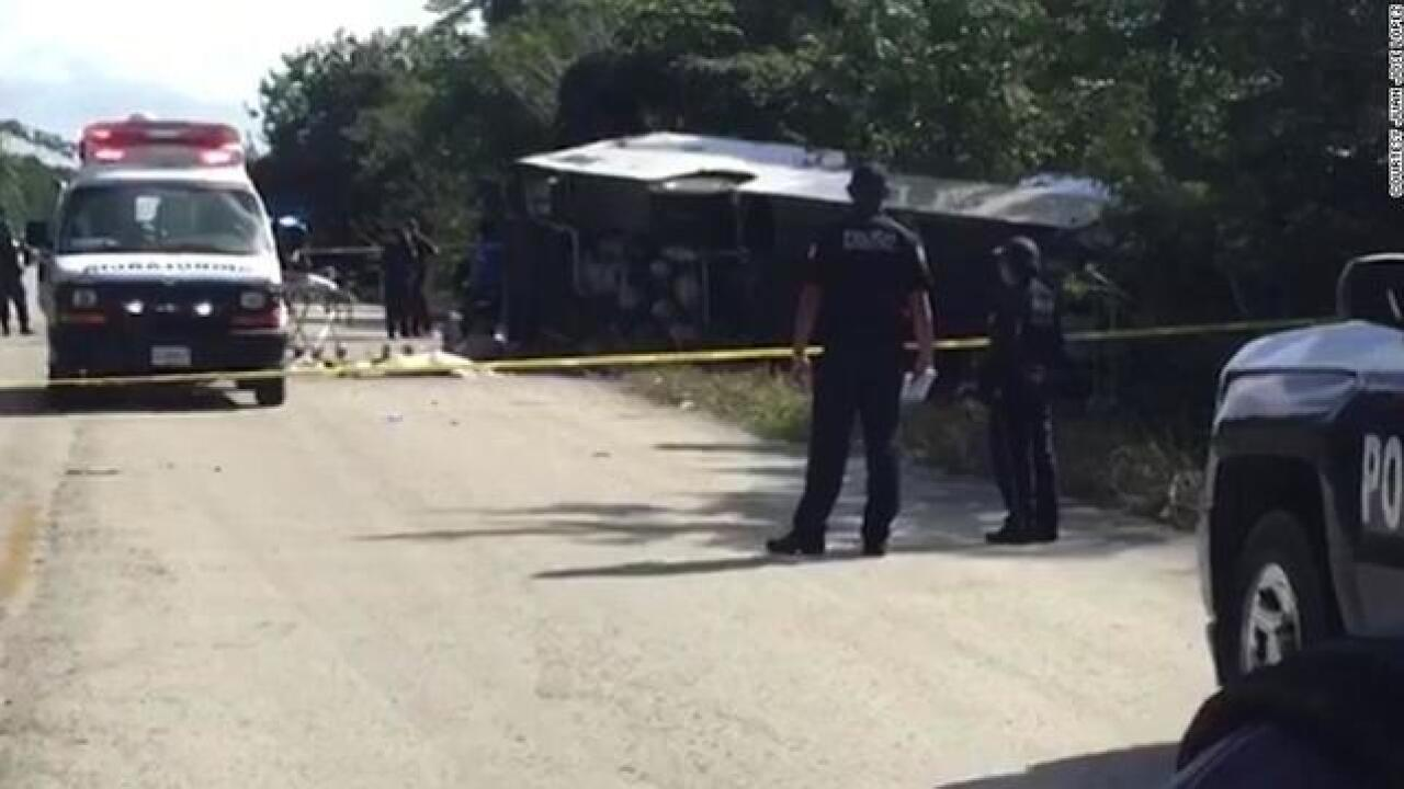 Tour bus crashes in Mexico, fatalities reported