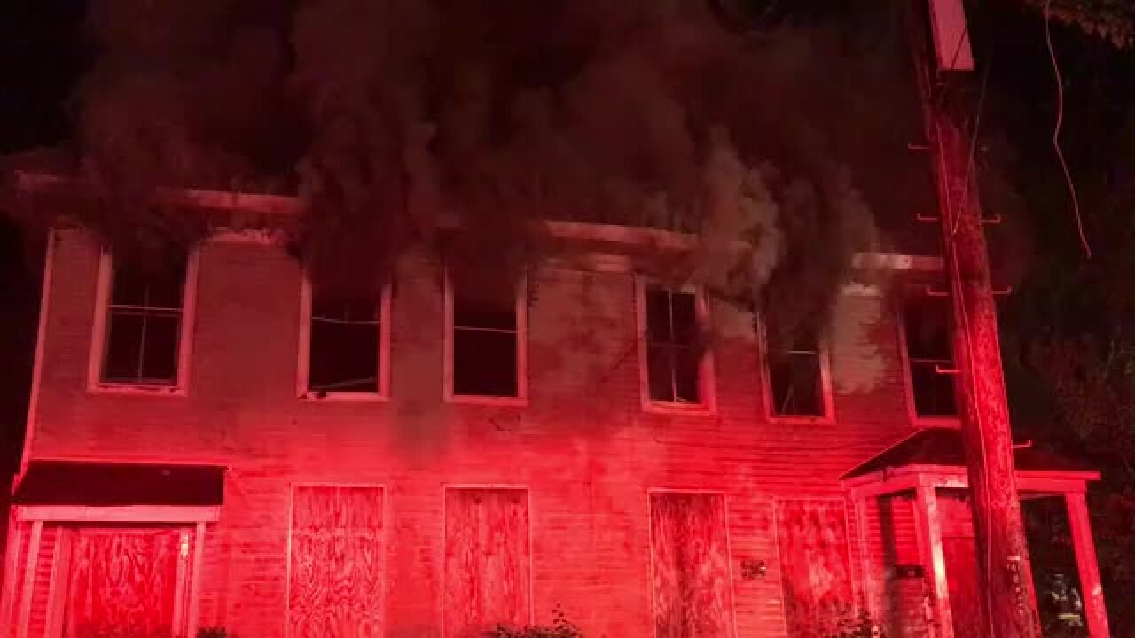 'Suspicious' fire at vacant Petersburg home is next-door to recent arson