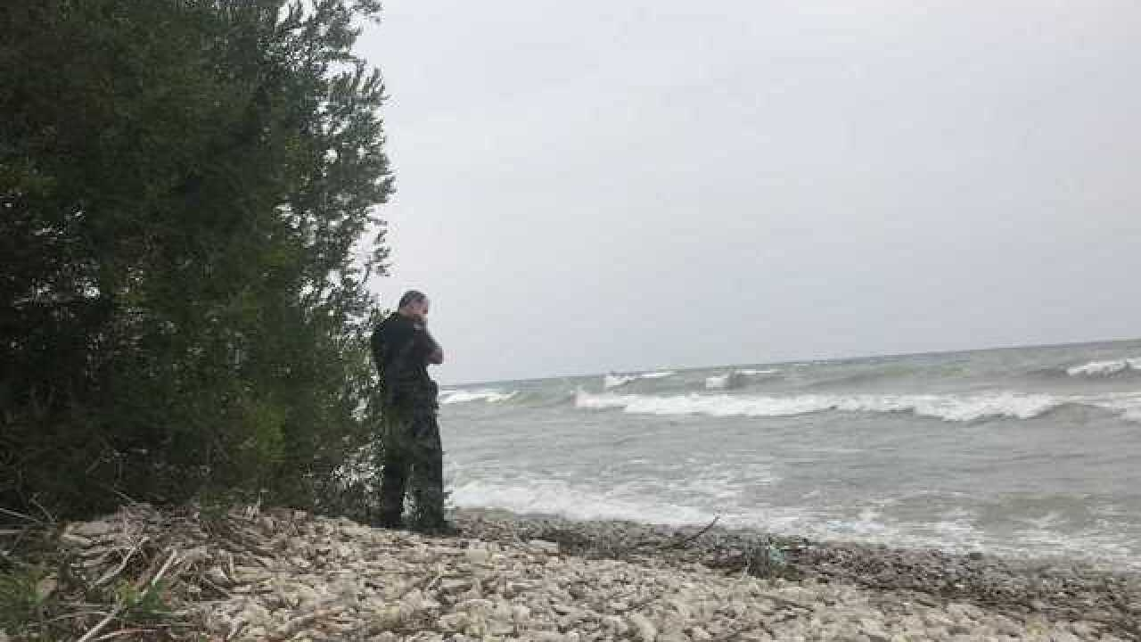 Swimmer missing in Lake Michigan in Ozaukee Co.