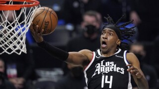 Mann scores career-high 39, Clippers eliminate Jazz 131-119