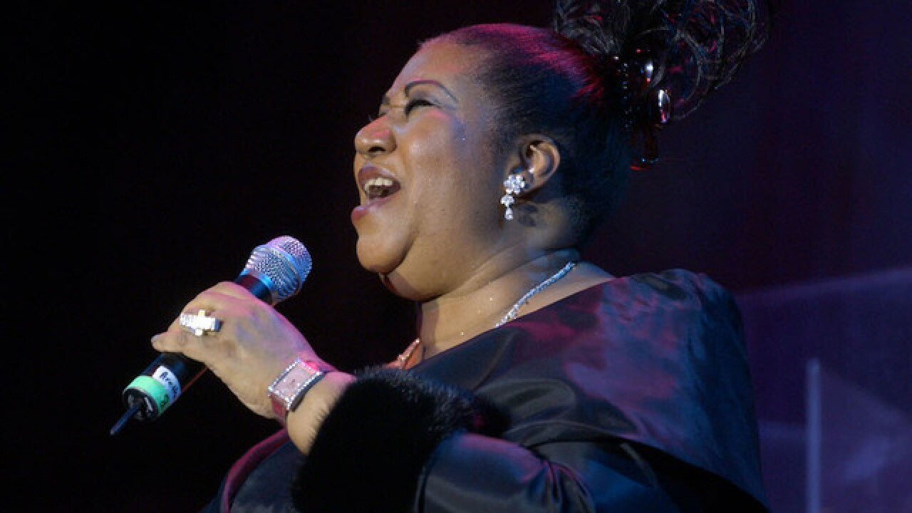 Aretha Frankin in hospital and gravely ill