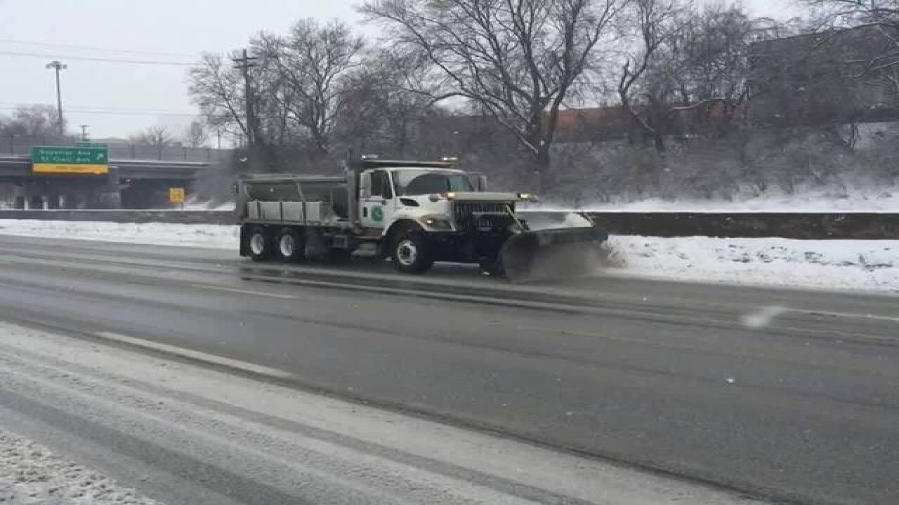 NEO roads pretreated; crews ready for snow