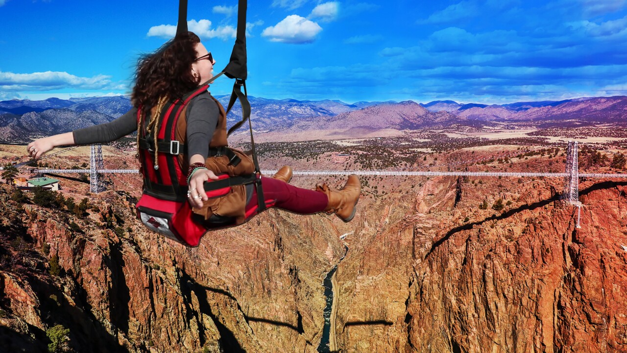 Royal Gorge Bridge Zipline