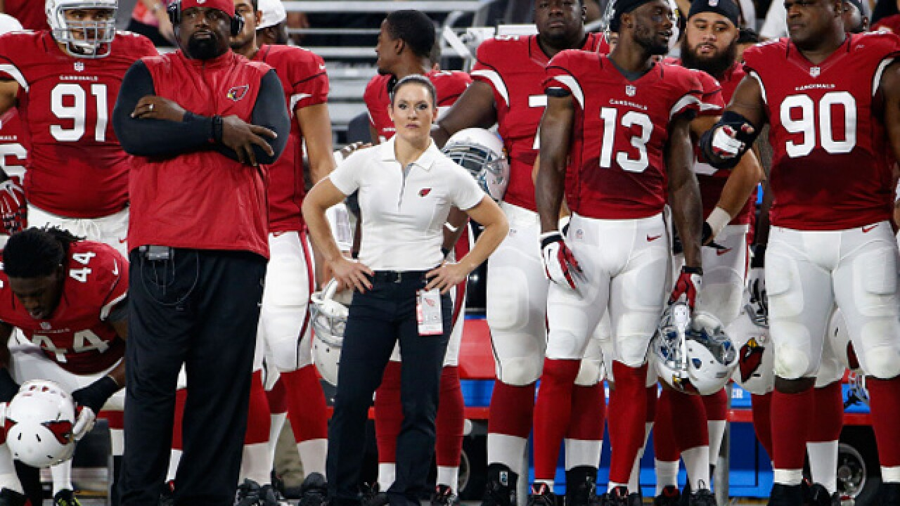 Woman who coached on Arizona Cardinals' staff says female head coach 'a few years' away