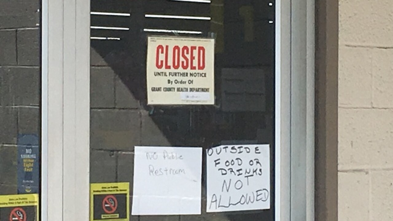 Marion Dollar General closed because of rodents