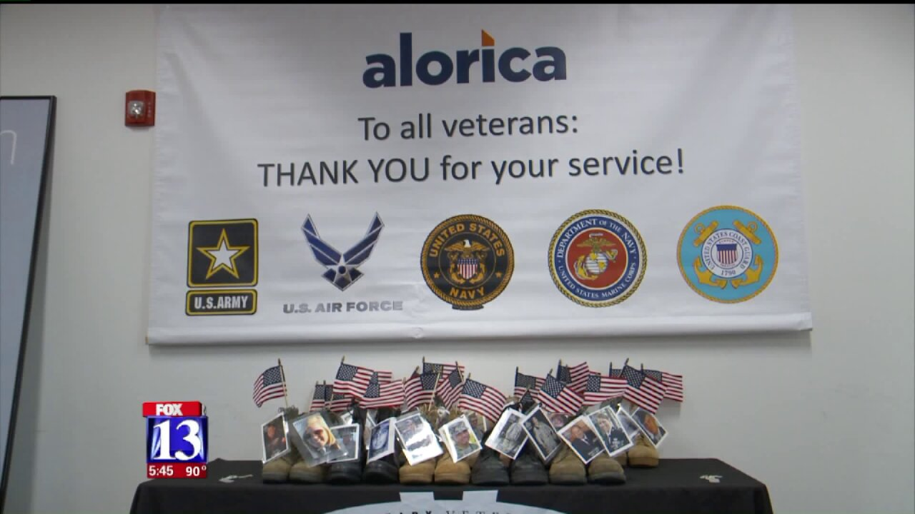 Volunteers and local business working to prevent veteran suicides