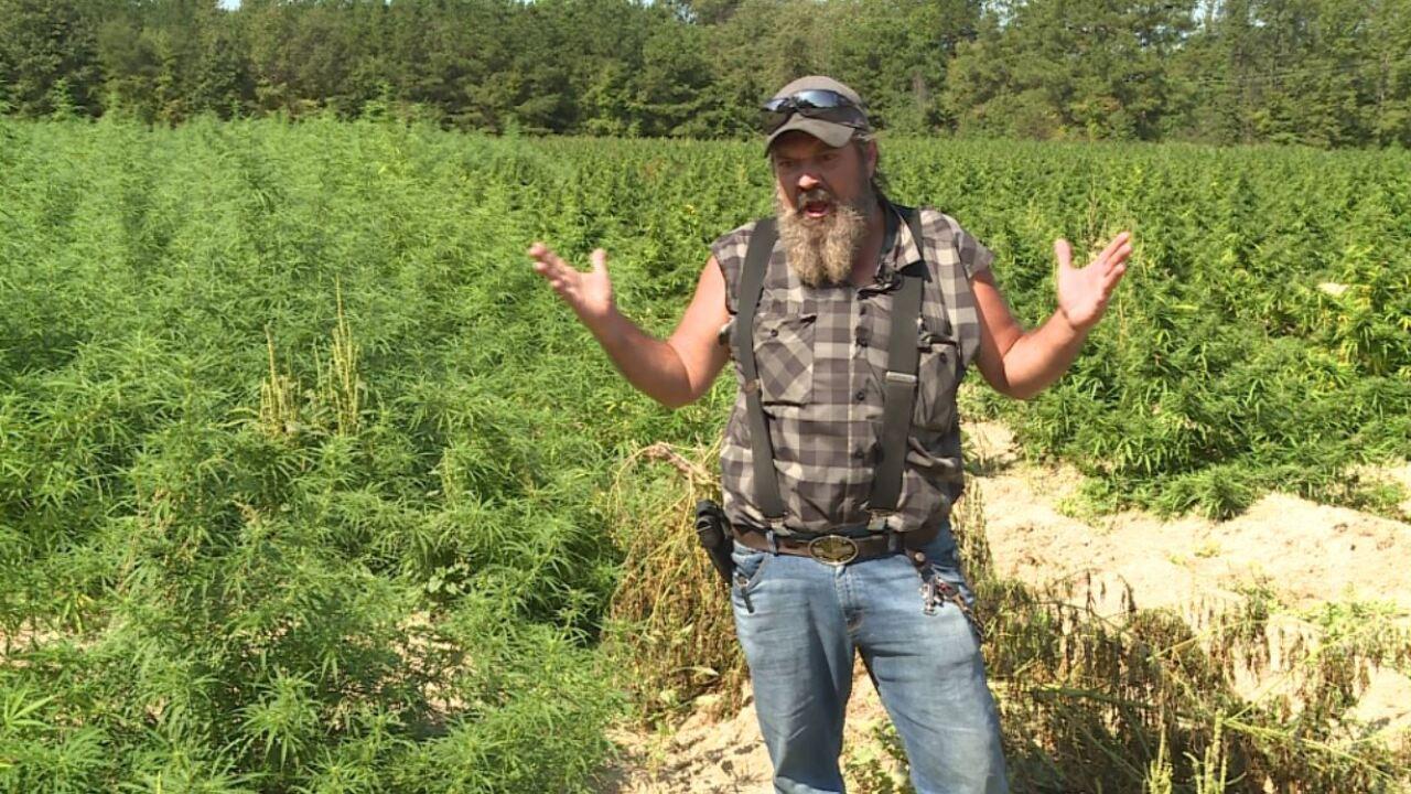 Virginia hemp farmer carries gun to protect crop, kids: 'They shot at my flesh andblood'