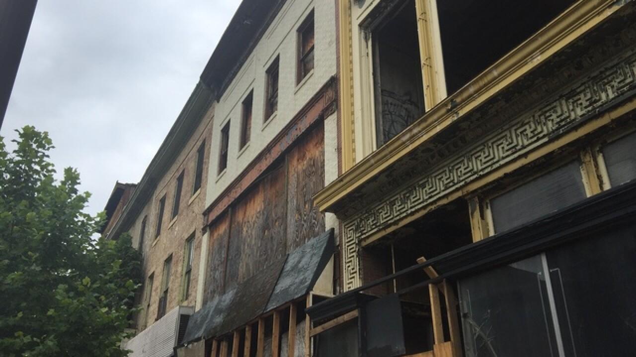 Groundbreaking for Howard Street makeover