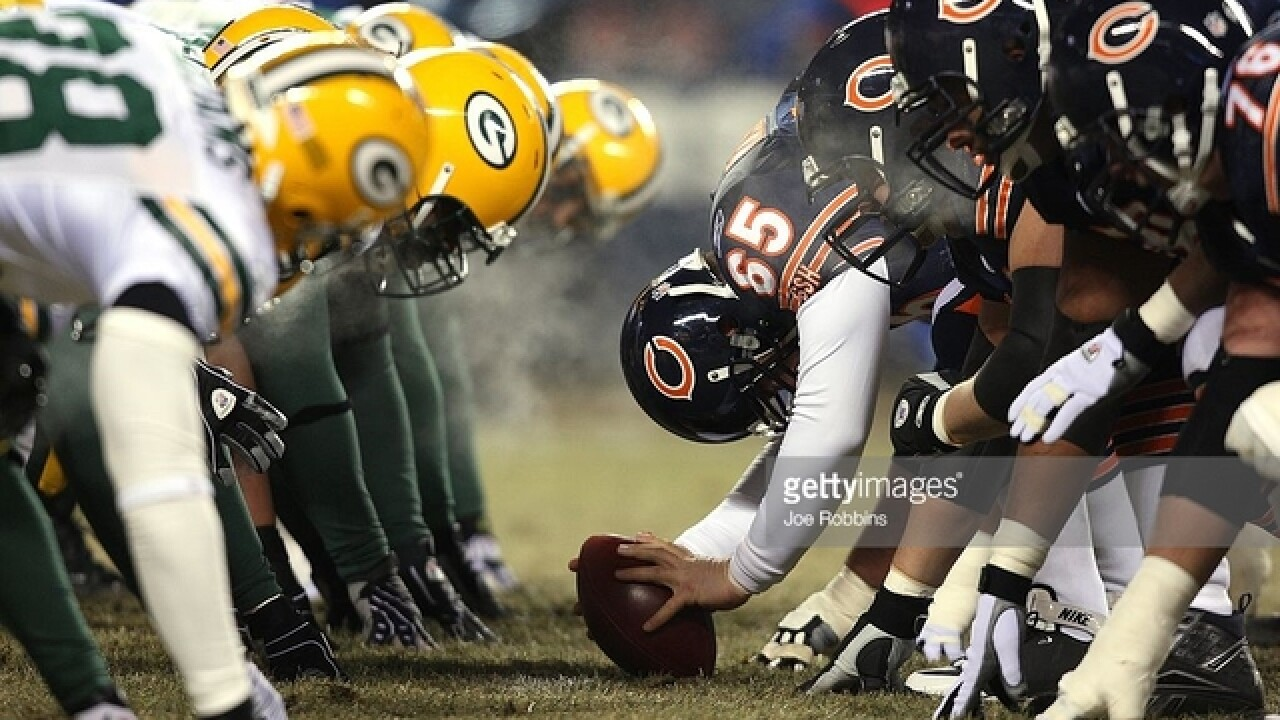 Packers vs. Bears: The Anthem, the O-line, and a historic rivalry