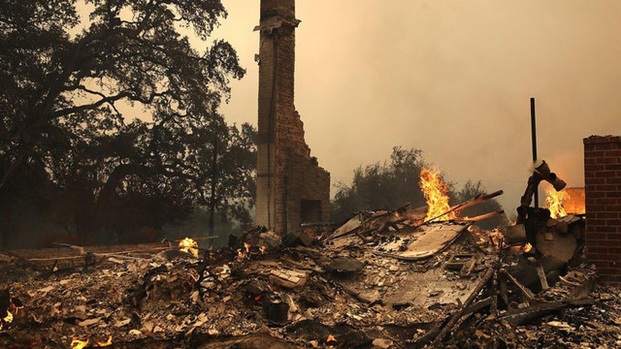 Emergency declared as NoCal wildfires rage