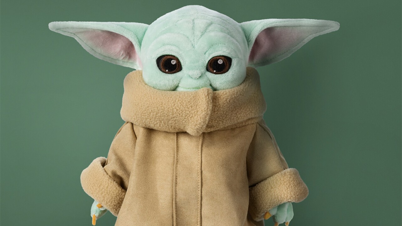 'Baby Yoda' Star Wars plush toys available for pre-order, won't arrive until March