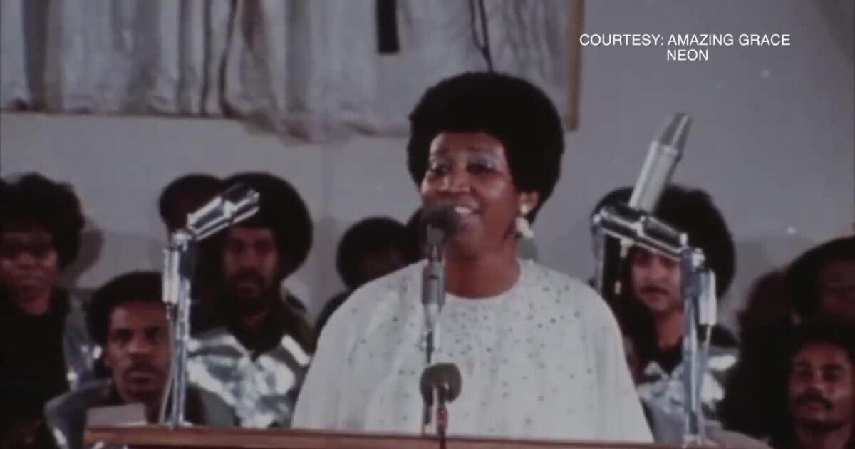 Aretha Franklin's family talks 'Amazing Grace' film