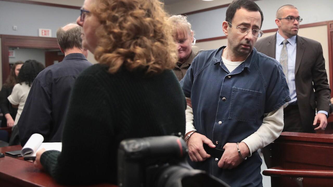 Larry Nassar to be sentenced Wednesday