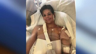 Mother of 13-year-old shark attack victim shares son's condition