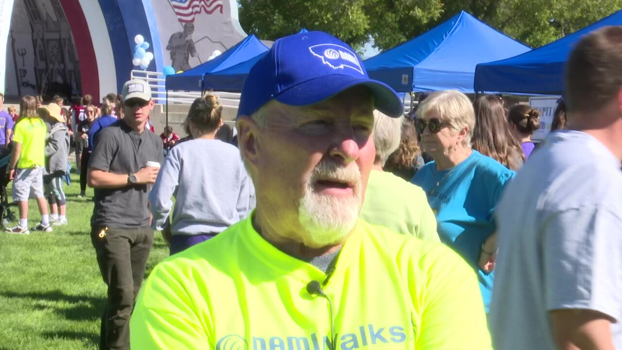 Hundreds participate in NAMI Walk for mental health awareness