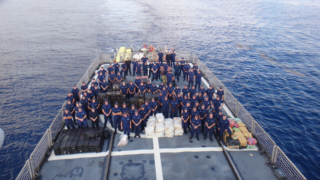 Coast Guard Cutter Northland returns to Portsmouth after 79-daypatrol
