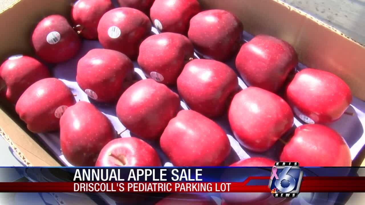 Driscoll Children's Hospital apple sale