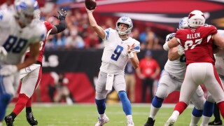 Cardinals rally to force OT, finish in tie with Lions