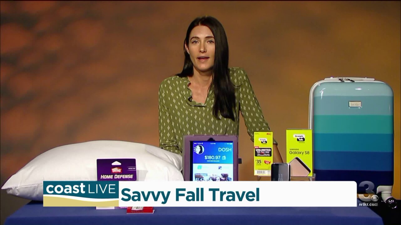 Savvy travel tips from actress and travel expert Kinga Phillipps on Coast Live