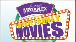 Private family movies now available at select Megaplex Theatres locations
