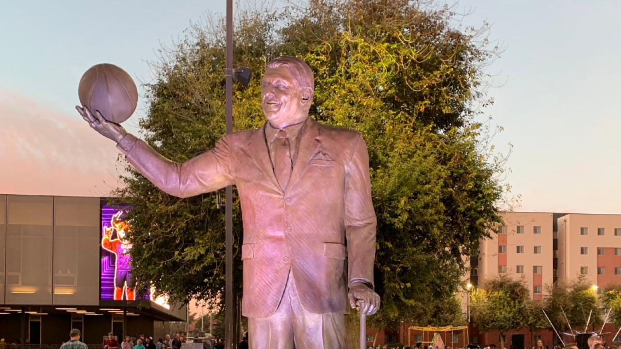 Jerry Colangelo GCU statue