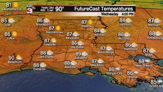 Pleasant weather continues through Thursday