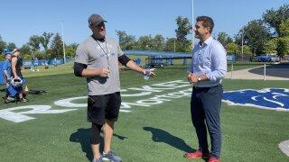 Dan Campbell Brad Galli interview Lions