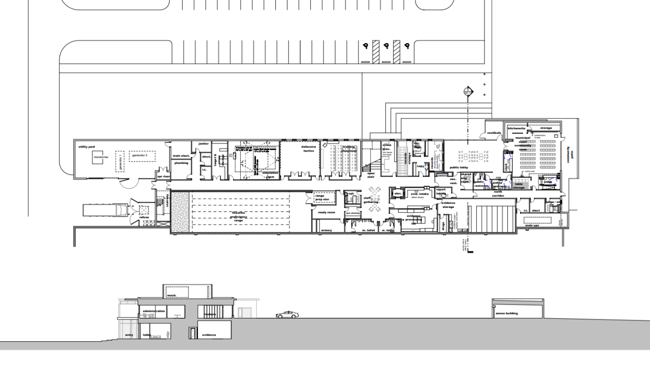 Brentwood Hq with ambulance annex.PNG