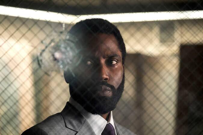 John David Washington in 'Tenet' promotional image