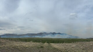 Dixon wildlands fire