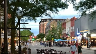 Ann Arbor downtown Main Street