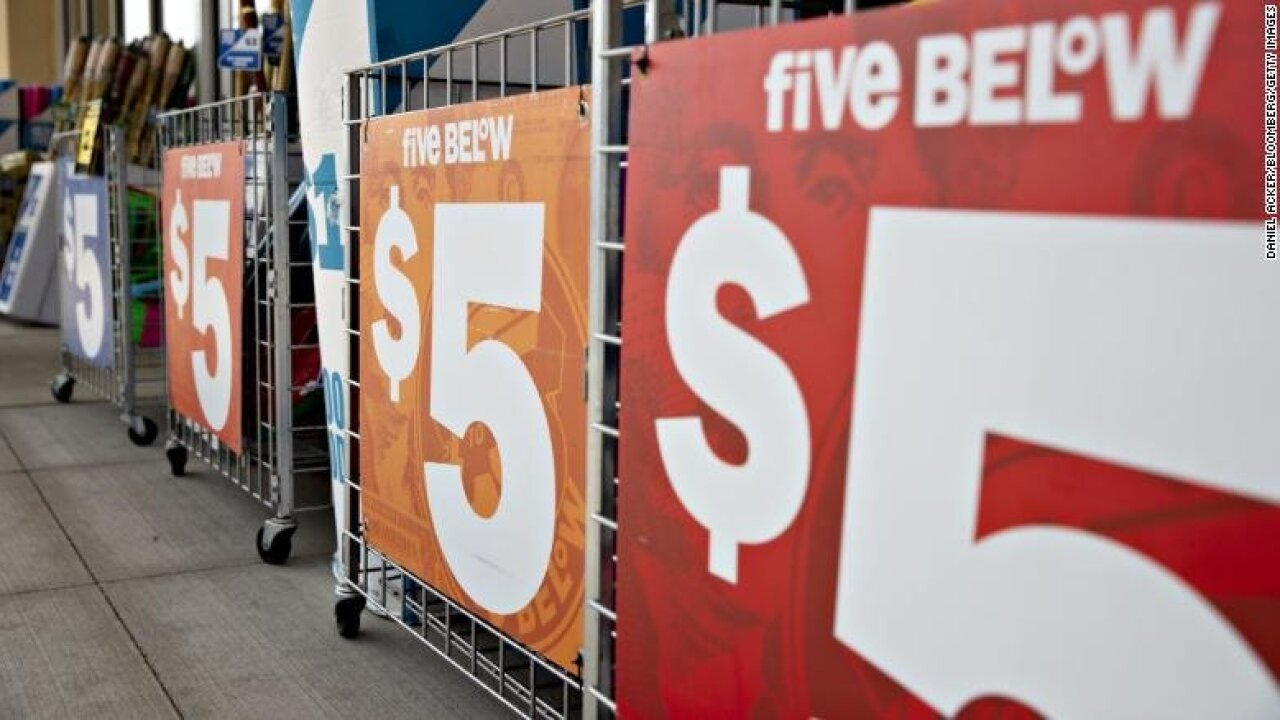 Five Below to begin selling items for more than $5