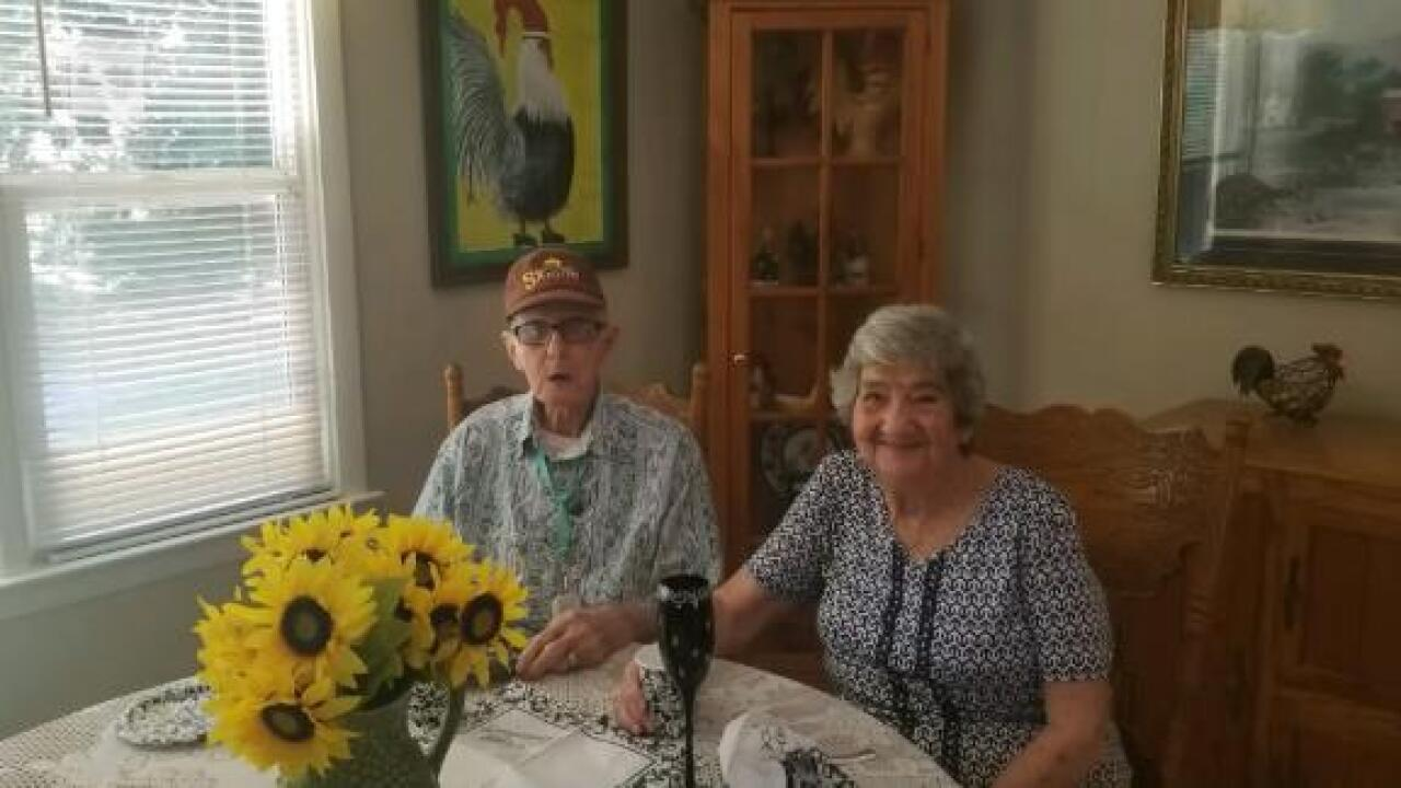 After 71 years of marriage, a husband and wife die on the same day
