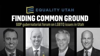 Equality Utah forum