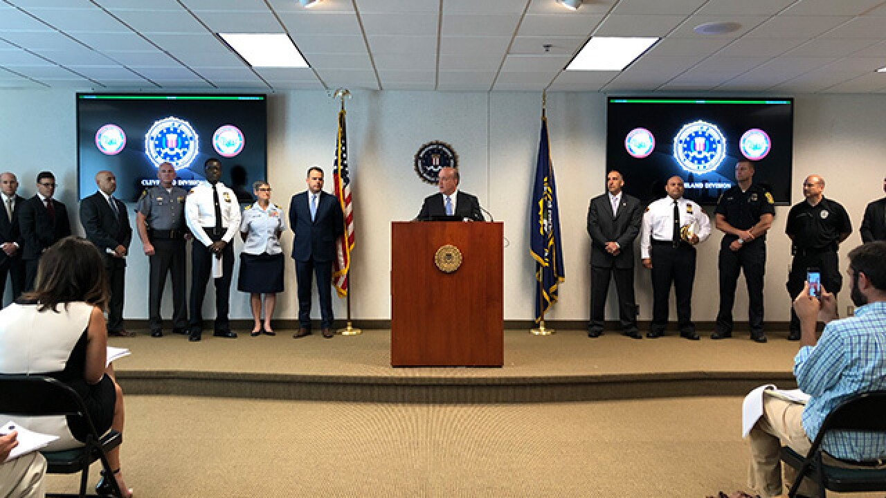 Man arrested for July 4 terror plot in Cleveland