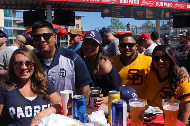 PHOTOS: Padres fans celebrate Opening Day at Petco Park