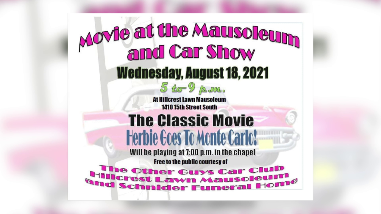 Free car show and movie in Great Falls