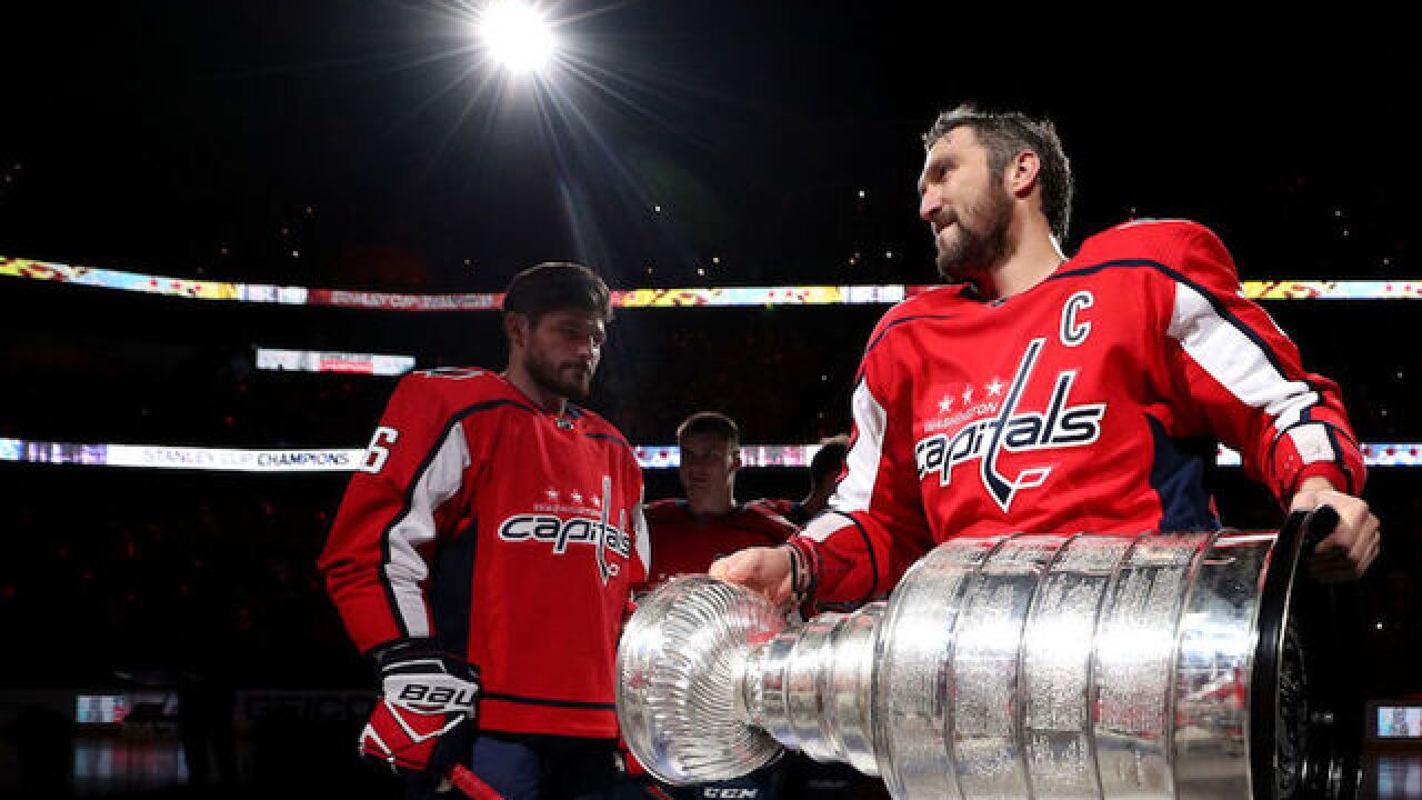The day the Stanley Cup went missing -- in Siberia
